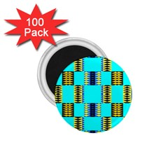 Triangles In Rectangles Pattern 1 75  Magnet (100 Pack)