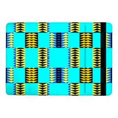 Triangles In Rectangles Patternsamsung Galaxy Tab Pro 10 1  Flip Case
