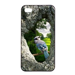Bird In The Tree  Apple Iphone 4/4s Seamless Case (black)