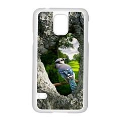 Bird In The Tree  Samsung Galaxy S5 Case (white)