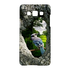 Bird In The Tree  Samsung Galaxy A5 Hardshell Case