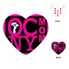 Ocnymoms Logo Playing Cards (heart)