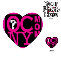 OCNYMOMS LOGO Multi-purpose Cards (Heart)