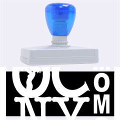 Ocnymoms Logo Rubber Address Stamps (xl)