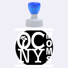 Ocnymoms Logo Rubber Round Stamps (large)