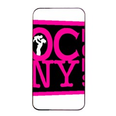 OCNYMOMS LOGO Apple iPhone 4/4s Seamless Case (Black)