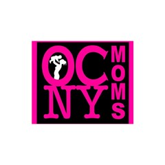 OCNYMOMS LOGO YOU ARE INVITED 3D Greeting Card (8x4)