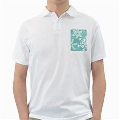 Snowflakes 3  Golf Shirts