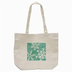 Snowflakes 3  Tote Bag (Cream)
