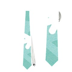Snowflakes 3  Neckties (One Side)