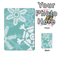 Snowflakes 3  Multi-purpose Cards (Rectangle)