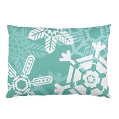 Snowflakes 3  Pillow Cases