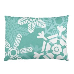 Snowflakes 3  Pillow Cases (Two Sides)