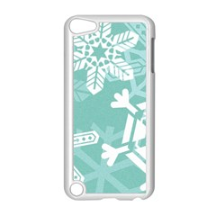 Snowflakes 3  Apple Ipod Touch 5 Case (white)