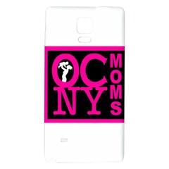 Ocnymoms Logo Galaxy Note 4 Back Case