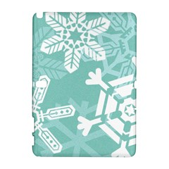 Snowflakes 3  Samsung Galaxy Note 10 1 (p600) Hardshell Case