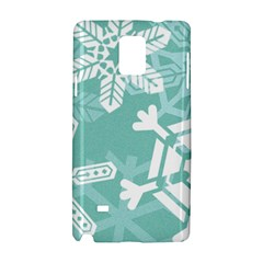 Snowflakes 3  Samsung Galaxy Note 4 Hardshell Case