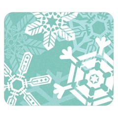 Snowflakes 3  Double Sided Flano Blanket (Small)