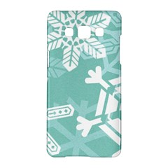 Snowflakes 3  Samsung Galaxy A5 Hardshell Case