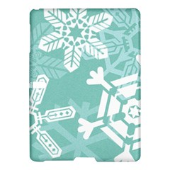 Snowflakes 3  Samsung Galaxy Tab S (10 5 ) Hardshell Case