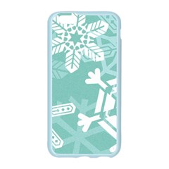 Snowflakes 3  Apple Seamless iPhone 6 Case (Color)