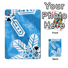 Snowflakes 1  Playing Cards 54 Designs
