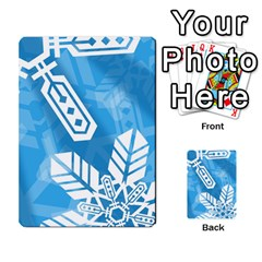 Snowflakes 1  Multi Purpose Cards (rectangle)