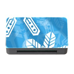 Snowflakes 1  Memory Card Reader With Cf