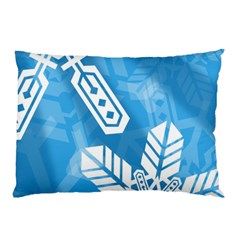 Snowflakes 1  Pillow Cases (Two Sides)