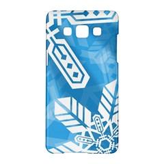 Snowflakes 1  Samsung Galaxy A5 Hardshell Case