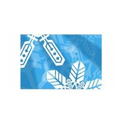 Snowflakes 1  Satin Wrap