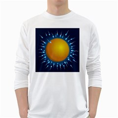 Sperm Fertilising Egg  White Long Sleeve T Shirts