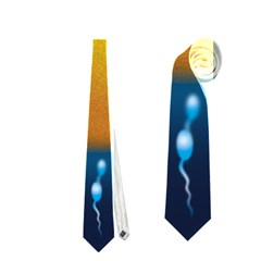 Sperm Fertilising Egg  Neckties (Two Side)
