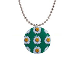 Daisy Pattern  Button Necklaces