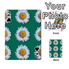 Daisy Pattern  Playing Cards 54 Designs