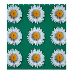 Daisy Pattern  Shower Curtain 66  x 72  (Large)