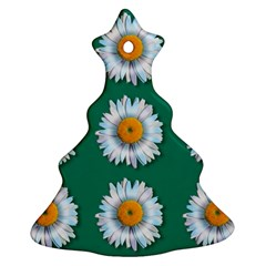 Daisy Pattern  Ornament (Christmas Tree)