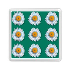 Daisy Pattern  Memory Card Reader (Square)