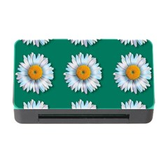 Daisy Pattern  Memory Card Reader with CF