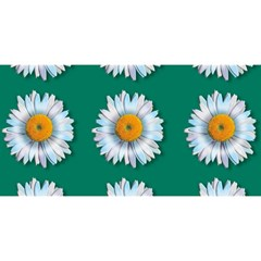 Daisy Pattern  You Are Invited 3d Greeting Card (8x4)