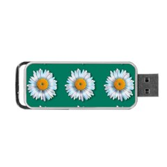 Daisy Pattern  Portable USB Flash (Two Sides)