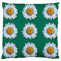 Daisy Pattern  Large Flano Cushion Cases (Two Sides)