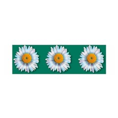 Daisy Pattern  Satin Scarf (Oblong)