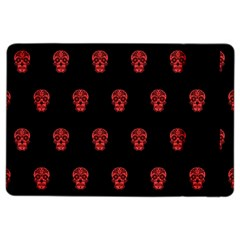Skull Pattern Red iPad Air 2 Flip