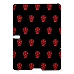 Skull Pattern Red Samsung Galaxy Tab S (10 5 ) Hardshell Case