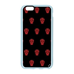 Skull Pattern Red Apple Seamless iPhone 6 Case (Color)