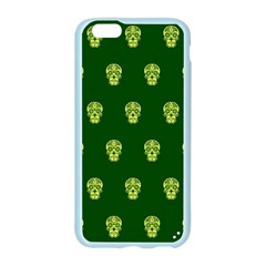 Skull Pattern Green Apple Seamless iPhone 6 Case (Color)