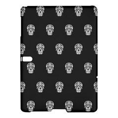 Skull Pattern Bw  Samsung Galaxy Tab S (10.5 ) Hardshell Case