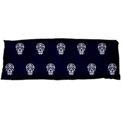 Skull Pattern Blue  Body Pillow Cases Dakimakura (two Sides)
