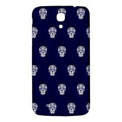 Skull Pattern Blue  Samsung Galaxy Mega I9200 Hardshell Back Case